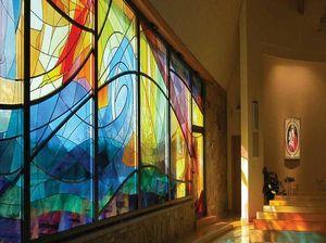 GLASSOLUTIONS France - artglass color - Buntglasfenster