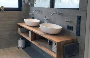 KASKADE -  - Doppelwaschtisch Möbel