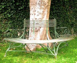 LES COULOIRS DU TEMPS -  - Garten Rundbank