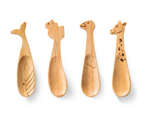 DONKEY PRODUCTS - spoonanimals / cuillère en bambou - Kinder Herb