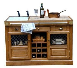Maison Strosser - bahut billot berry - Küchenblock