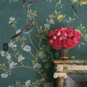 de Gournay - chinoiserie - Tapete