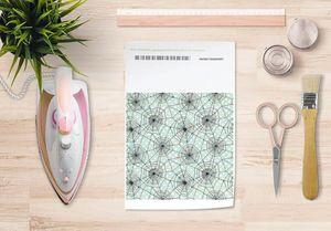 la Magie dans l'Image - papier transfert toile verte - Verlegung