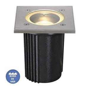 SLV - luminaire extérieur encastrable dasar inox 316 ip6 - Einbau Bodenspot