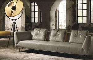 MAX DIVANI - cesta - Sofa 3 Sitzer