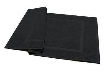 Liou - tapis de bain noir - Badematte