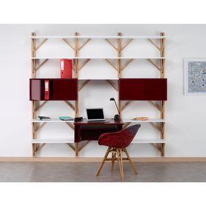 COSY KORNER - twig front 3 - Schreibtisch