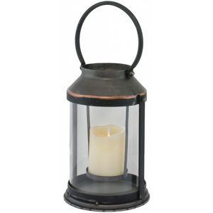 CHEMIN DE CAMPAGNE - lanterne photophore de jardin tempête à bougie 28  - Laterne