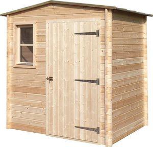 Cihb - abri de jardin en bois non traité basic - Holz Gartenhaus