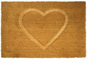 Aubry-Gaspard - paillasson en fibres de coco coeur thermopressé - Fussmatte