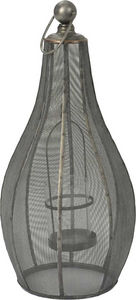 Amadeus - lanterne noire en métal - Gartenlaterne