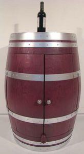 Barrique Meuble Bordeaux - bar prune - Barmöbel