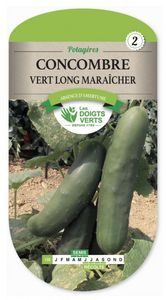 CK ESPACES VERTS - semence concombre vert long maraicher - Saatgut