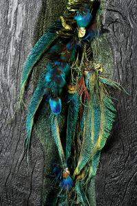 EMILIE MOUTARD-MARTIN - silent forest-- - Zeitgenössische Gemälde