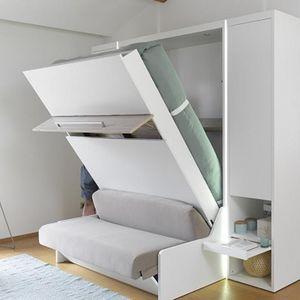 Meubles Celio -  - Hochklappbares Bett