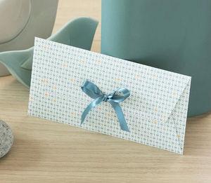 LES BELLES MUSETTES - maud bleu - Geschenkumschlag