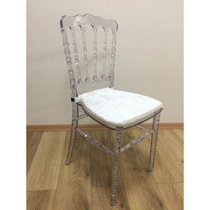 DECO PRIVE - chaise napoléon iii transparente - Crapaud Sessel