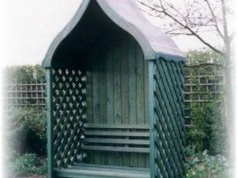 Grandad's Garden -  - Bank Mit Dach