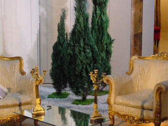 Hortus Verde - planter le décor - Stabilisierter Baum