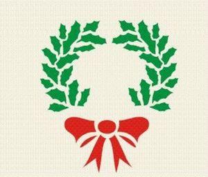 Chiropo - Pochoir -  - Weihnachtsschablone