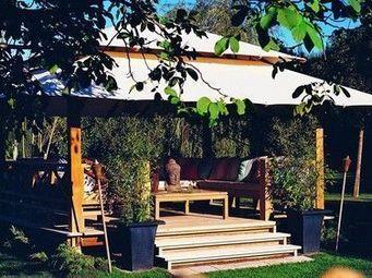 Honeymoon - sunset - Gartenlaube