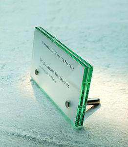 Signsystems - cristallo - Hausnummerschild