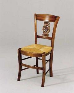 Cayron -  - Stuhl Mit Korbsitzfläche