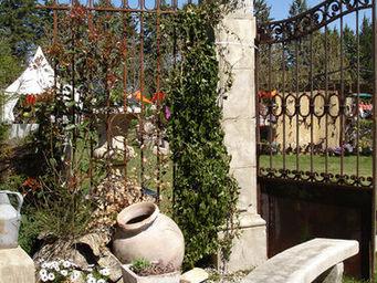 Atelier Alain Edouard Bidal - piliers en pierre de taille - Pfeiler