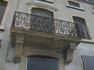 A LA FRANCAISE  -  SMCA -  - Balkon