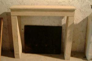 VESTIGES DE FRANCE - cheminée ancienne - Rauchfangmantel