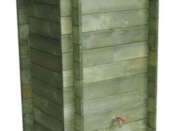 BARCLER - récupérateur d'eau 312 litres traité autoclave - Kompost