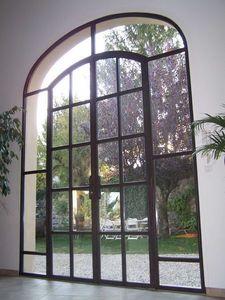 ATELIER TAVERNIER -  - Verglaste Eingangstür
