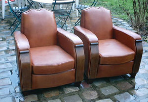 Fauteuil Club.com - moustaches - Clubsessel