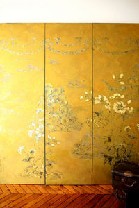 ANNE GELBARD - chinoiseries - Zierpaneel