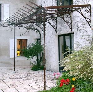 La Forge  de La Maison Dieu - bruts - Eingangsvordach