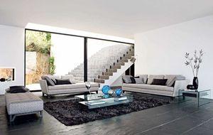 ROCHE BOBOIS - littoral - Sofa 4 Sitzer