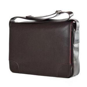Bill Amberg Leather Design - sunbeam messenger bag - Laptop Tasche