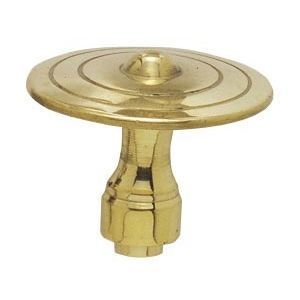 FERRURES ET PATINES - bouton alsace bronze - Schubladenknopf