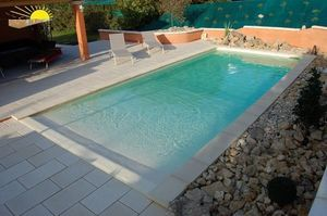 PISCINE PLAGE -  - Poolstrand