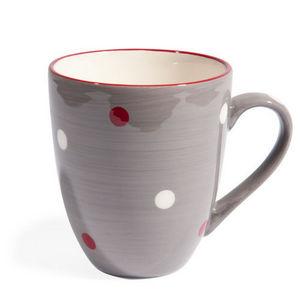 Maisons du monde - mug gris neige - Mug