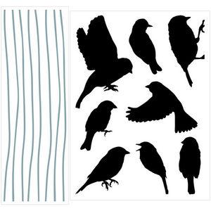 ALFRED CREATION - sticker velours - libre symphonie - Gummiertes Papier