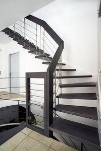 Créateurs d'Escaliers Treppenmeister - nova - Viertelgewendelte Treppe