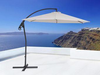 BELIANI - asti ii beige - Sonnenschirm