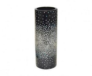 Demeure et Jardin - vase rouleau céramique marine et coquille d'oeuf - Vasen