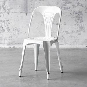 Mathi Design - chaise multipl's blanche - Stuhl