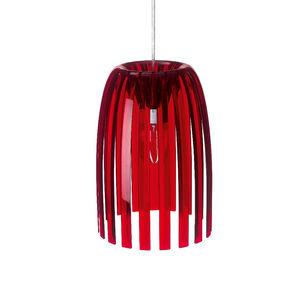 Koziol - josephine - suspension rouge transparent ø21,8cm | - Deckenlampe Hängelampe