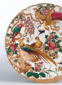 ROYAL CROWN DERBY -  - Flache Teller