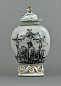 Galerie Antoine Lebel -  - Vase Mit Deckel
