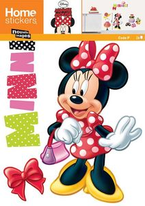 Nouvelles Images - sticker mural minnie fashion - Kinderklebdekor