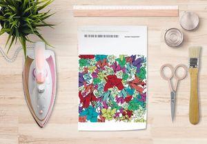 la Magie dans l'Image - papier transfert fleurs - Verlegung